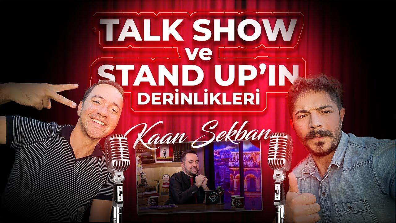 Stand Up ve Talk Show'larin Arka Odalari!  w/ Komedyen @Kaan Sekban
