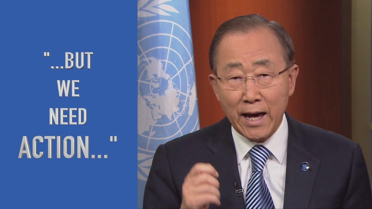 UN Chief calls for action as Paris Agreement enters into force