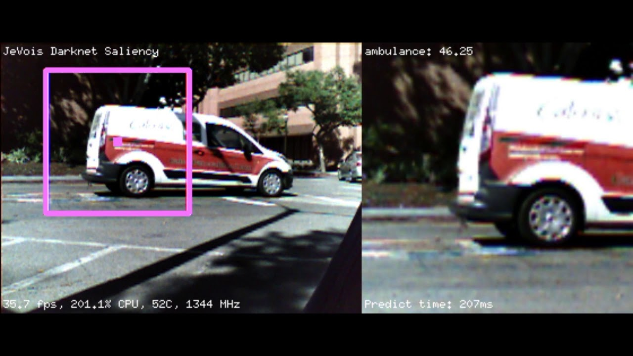 JeVois: Open-Source Quad-Core Smart Machine Vision Camera by JeVois