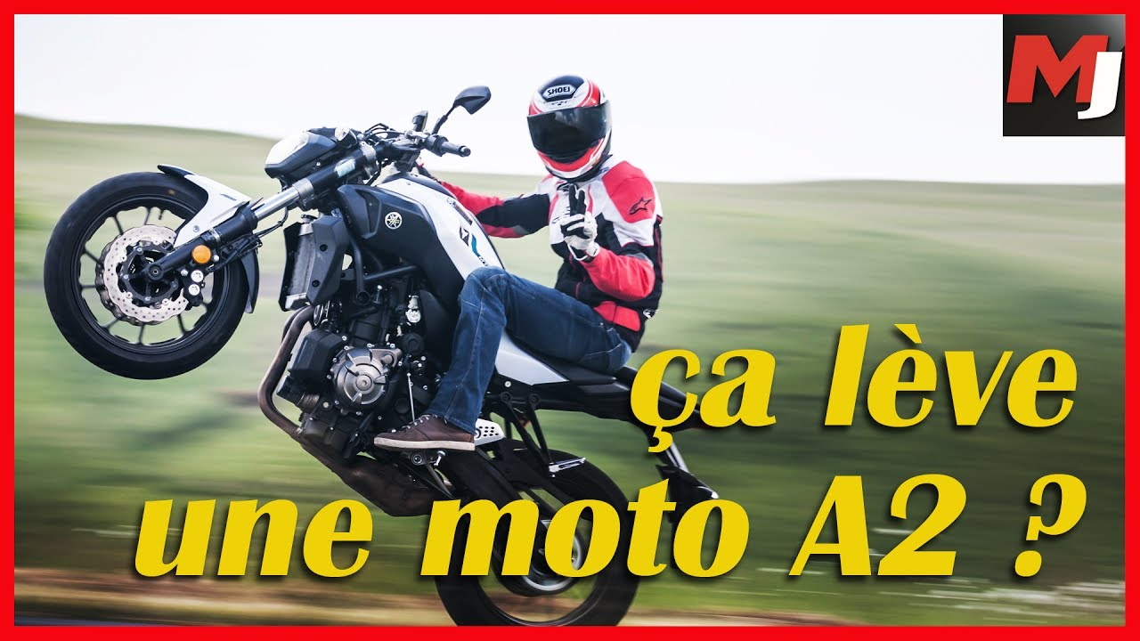test motos permis a2 peut on vraiment tout faire en moto a2 youtube. Black Bedroom Furniture Sets. Home Design Ideas