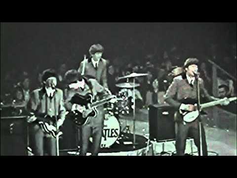 The Beatles Medley washington coliseum show, 1964!