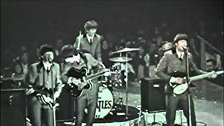 The Beatles Medley washington coliseum show, 1964! HD1080P