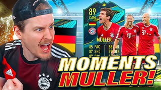THE BEST SBC EVER?! 89 MOMENTS MULLER PLAYER REVIEW! FIFA 21 Ultimate Team