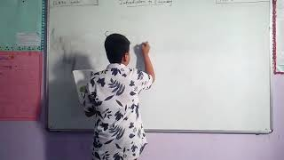 Seminar by 6th std student on science topic
