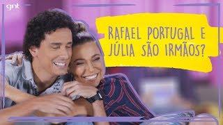Como rir durante um vídeo inteiro com Rafael Portugal e Júlia Rabello | Fale Conosco