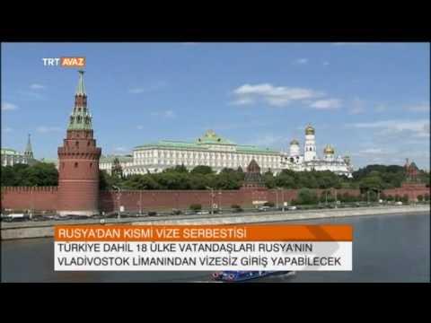 Rusya'dan Türkiye'ye de Kısmi Vize Serbestisi - TRT Avaz Haber