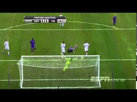 Fiorentina 2  1 Real Madrid Highlight 2014