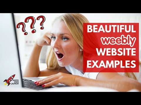 13 Stunning Weebly Website Examples