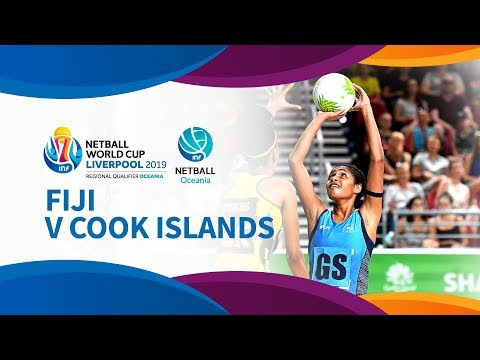 Fiji v Cook Islands I Day 3 I Oceania Netball World Cup Qualifiers
