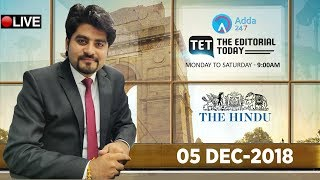 Download Video 5th DECEMBER 2018 | The Hindu | The Editorial Today | Editorial Discussion &  Analysis MP3 3GP MP4