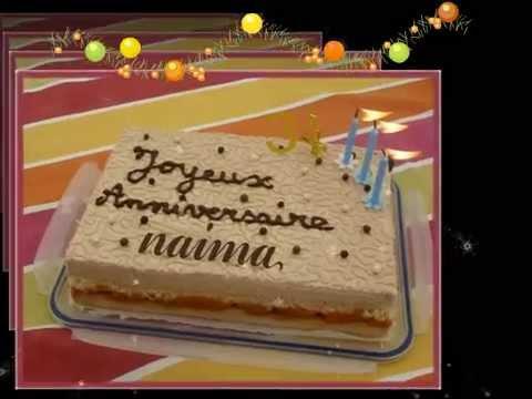 joyeux anniversaire ma soeur naima