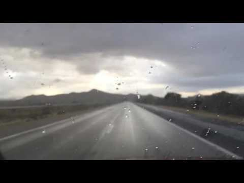 Flash Flood -Mojave Desert