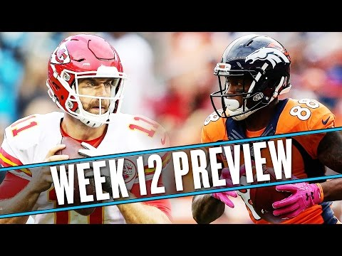 NFL Week 12 preview: Chiefs-Broncos is the best post-Thanksgiving game | Uffsides