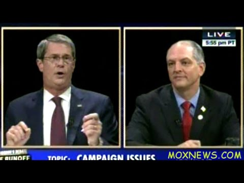 JOHN BEL EDWARDS vs SENATOR DAVID VITTER Louisiana Governor's Debate