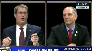 JOHN BEL EDWARDS vs SENATOR DAVID VITTER Louisiana Governor