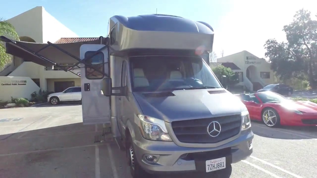 Mercedes Rv Luxe Rv View 2018 Youtube