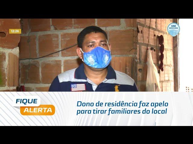 Rachaduras do Mutange: Dono de residência faz apelo para tirar familiares do local