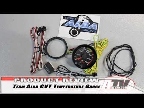 atv television team alba racing cvt temperature gauge atv television team alba racing cvt temperature gauge