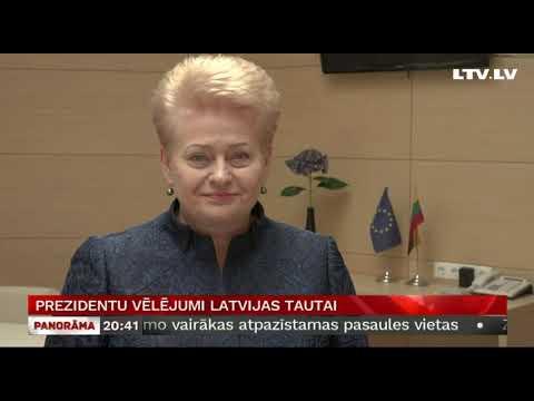 Prezidentu vēlējumi Latvijas tautai