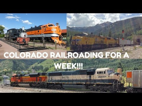 Rocky Mountain Railfanning! A Week of Trains Around Denver, CO w/ Royal Gorge & Vintage Power!