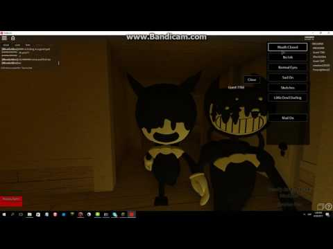Bendy And The Ink Machine Song Bulid Our Machine In Roblox Youtube
