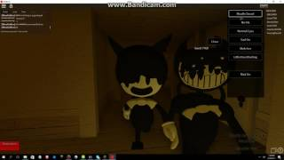 Bendy And The Ink Machine Song Bulid Our Machine In ROBLOX