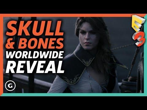 Skull & Bones Full World Wide Reveal Presentation   E3 2017 Ubisoft Press Conference