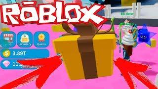 Симулятор Розпакування в РОБЛОКС. Мілана Знайшла Гігантський Подарунок. Roblox Unboxing Simulator