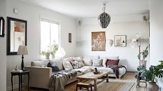Interior Design | Match Of Vintage & Scandinavian Style • Tour Home In Stockholm �