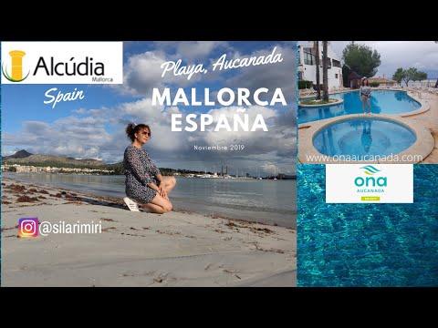 Vlog. ALCÚDIA PLAYAS, AUCANADA, MALLORCA, SPAIN.NOVIEMBRE 2019.Cubana Viajera.