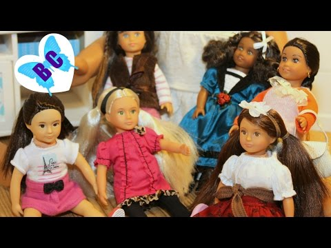 our-generation-mini-dolls-|-new-lori-collection-|-review-&-opening-|-buterflycandy