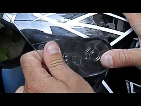 Как снять визор с шлема HJC CS-14