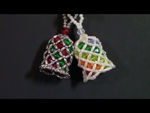 DIY Beaded Bells- A Twelve Ornament Challenge Piece