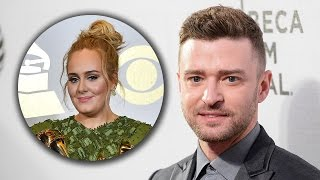 Justin Timberlake Doesn't Think Adele Should've Won Album Of The Year At The 2017 Grammy Awards