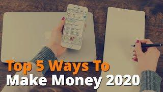 5 best ways to make money online 2020 - dirty little secrets