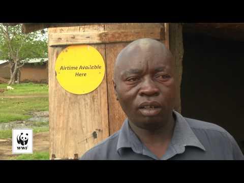 Grøn energi til Afrika: Lille solpanel med stor betydning.