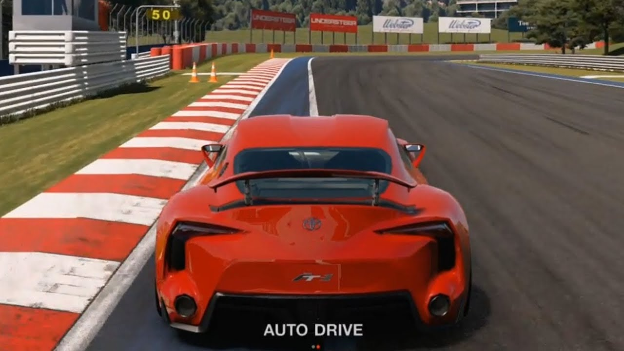 gran turismo sport - toyota ft-1 2014 - test drive gameplay (ps4