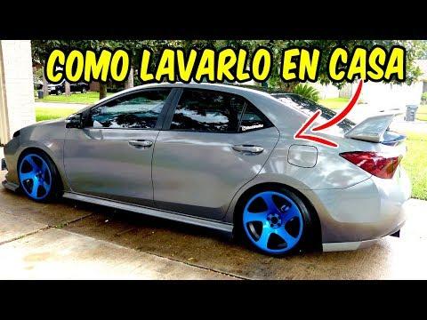 Como Lavar Tu Auto Facil Y Rapido 2017 Corolla SE