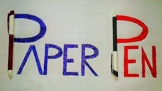 ✔TOP 3 Paper Pen Games | fun games to play on paper | pen & paper games