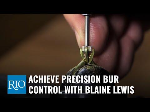 Blaine Lewis On Precision Bur Control While Setting Gemstones