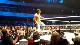 Tim Wiese bei WWE Live in Frankfurt