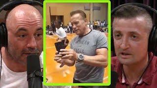 The Kid Who Kicked Arnold Schwarzenegger Had Bad Technique!   Joe Rogan and Michael Malice