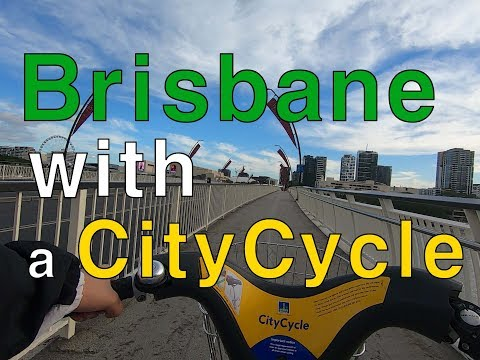 Brisbane, Australia | CityCycle From City To West End | 브리즈번 Vlog
