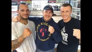 Kell Brooks trainer John Fewkes on plans for the future Part 1