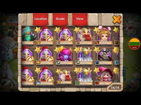 Very Lucky 21k Lil' Nick Trixie Treat Gem Rolling Talent Rolls Session For Omgf123 Castle Clash