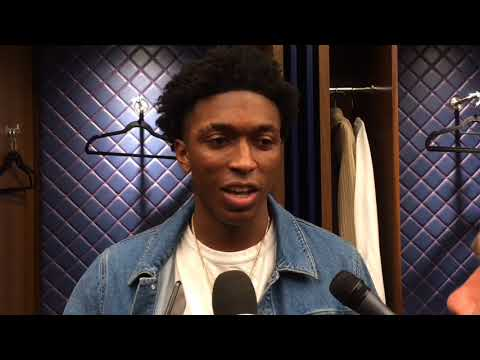 Pistons' Stanley Johnson on difficulty guarding LeBron James