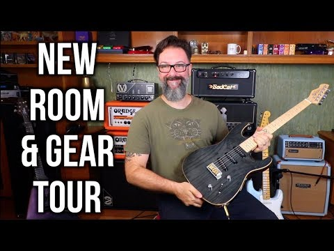 New Room & New Gear Tour - BadCat, Boogie and more