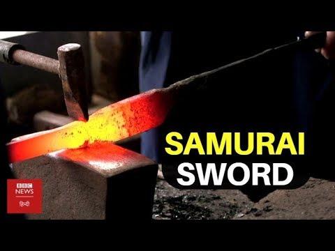 How To Make A Samurai Sword (BBC Hindi)
