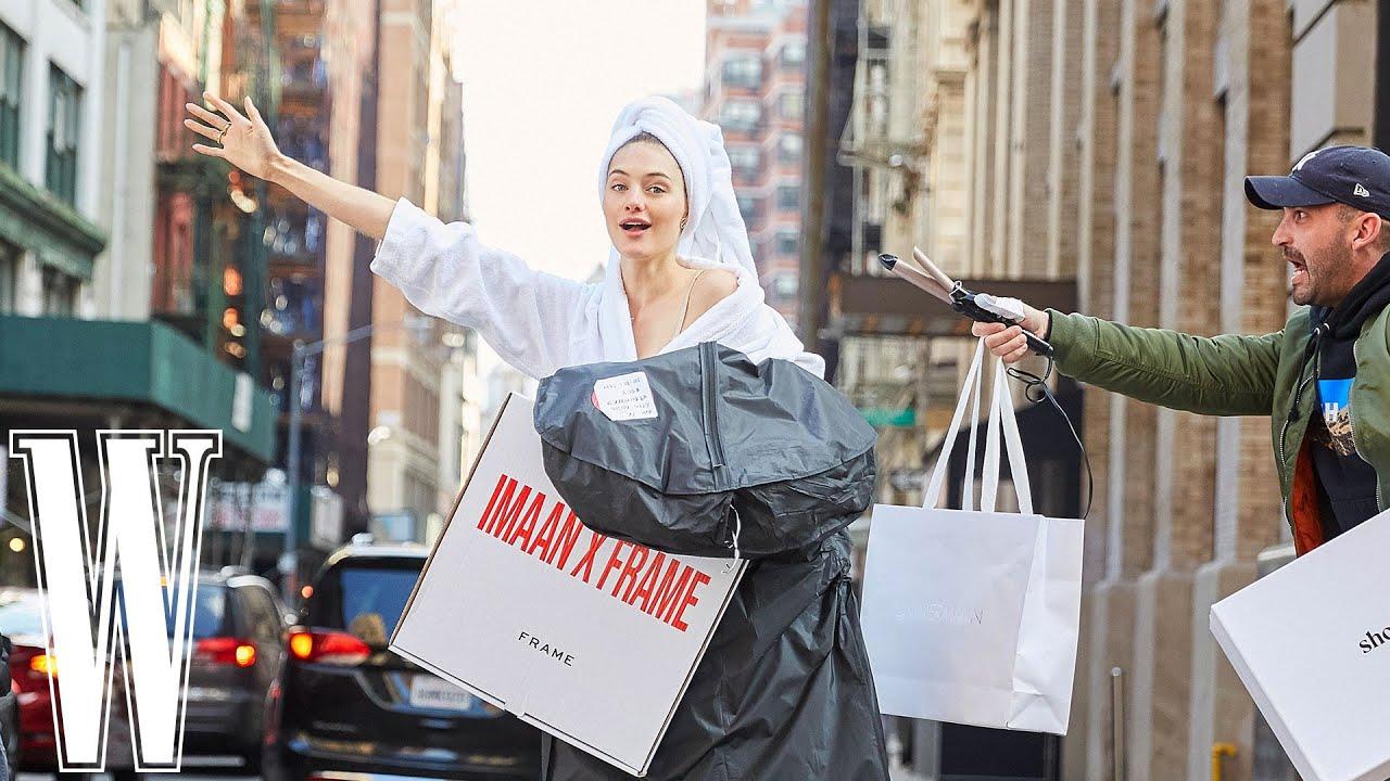 New York Fashion Week #WithMe @Sanne Vloet | W Magazine