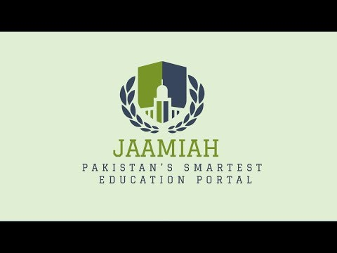 Search University in Pakistan - Jaamiah.com